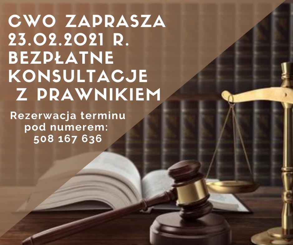 Bezpłatne konsultacje z prawnikiem