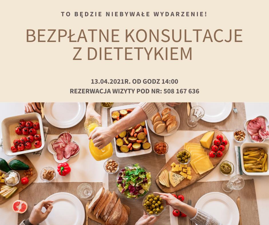 Bezpłatne konsultacje z dietetykiem