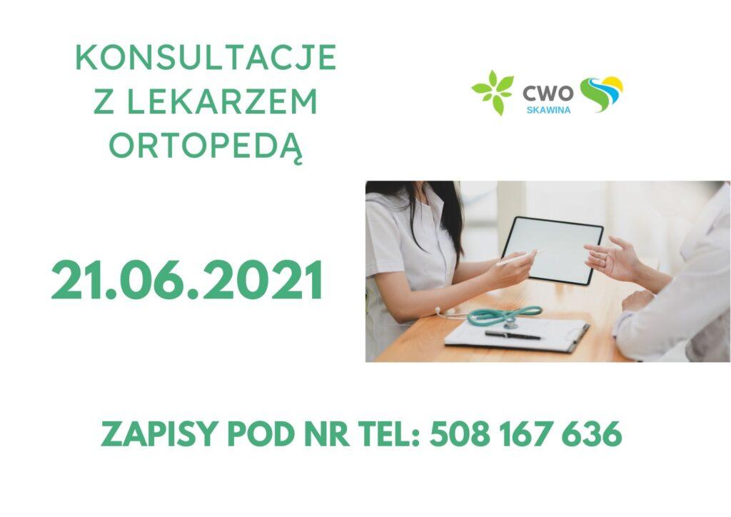 Konsultacje z lekarzem ortopedą