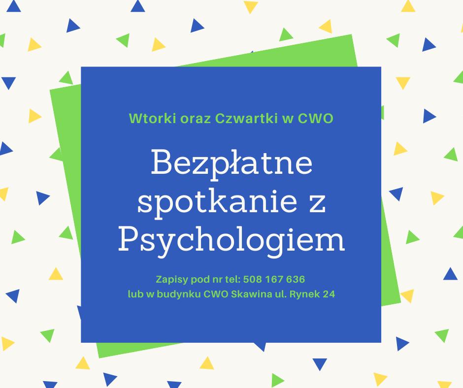 Bezpłatne konsultacje z psychologiem