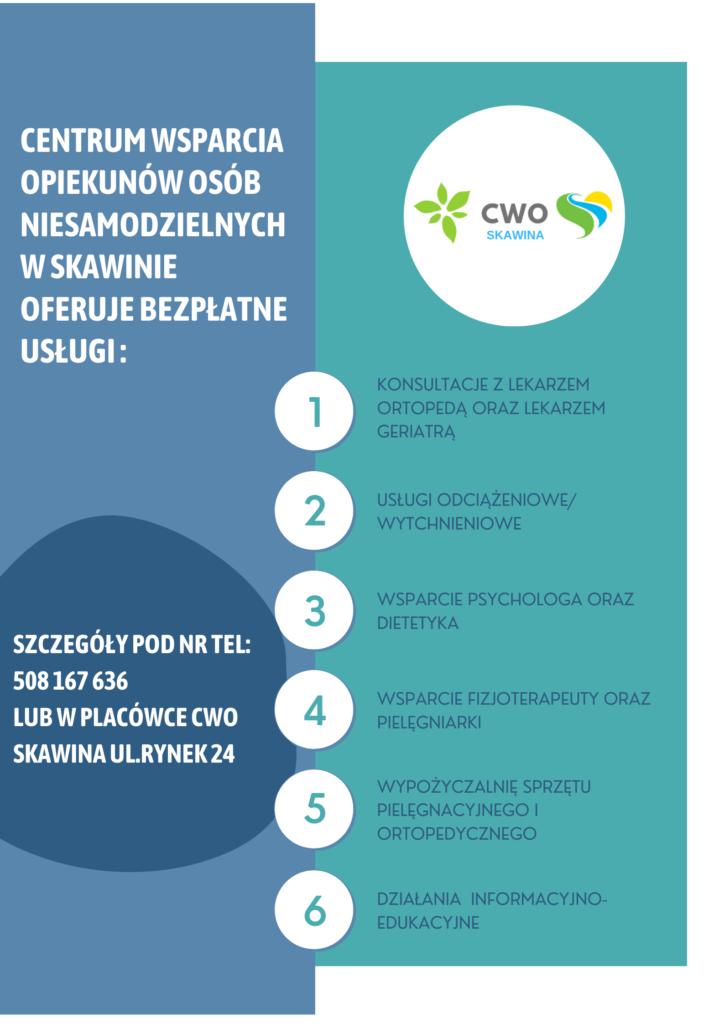 Centrum Wsparcie Opiekunów Osoby Niesamodzielnej w Skawinie - Specjaliści