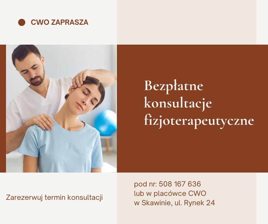 Konsultacje fizjoterapeutyczne